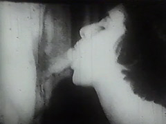 Woman with Big Tits Sucks on Her Casting 1950 tube porn video