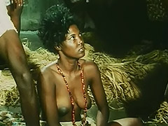 Topless African Girl Doing a Tribal Dance 1970 tube porn video