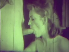 Couple Fucking Instead of Going to Church 1960 tube porn video