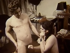 Chubby Chick Fucked on the Flood 1970 tube porn video