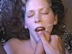 Cum Loving Hairy Pussy Babe is Being Fucked Both Ways just to get a Fine Dose of Cum tube porn video