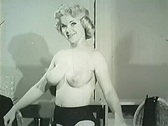 Smart Blonde Taking off Her Clothes 1950 tube porn video