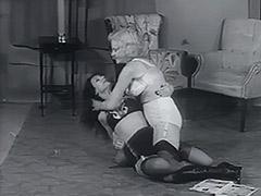 Nasty Chicks Fighting all Night Long 1950 tube porn video