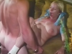 Busty Teen with Hairy Cunt in Xxx Action 1970 tube porn video