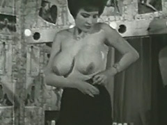 Busty Mature Lady Follows the Undressing Directions 1950 tube porn video