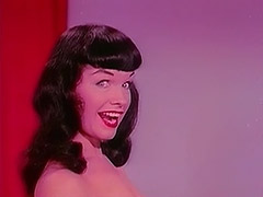Raven Haired Beauty Dances Seductively 1950 tube porn video