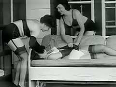 Perverted Abductors Kidnapped a Girl 1950 tube porn video
