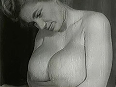 Mature Blonde with Huge Big Boobs 1950 tube porn video