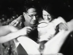 Hairy Pussy Spanked on Beach in Front of Others 1930 tube porn video
