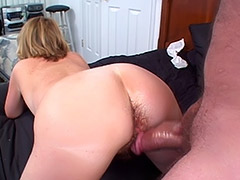 British Amateur MILF's Massive Hairy Cunt is Being Carefully Exploited by a Fuck Ready Man tube porn video