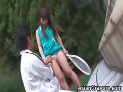 NAsty brunette asian girl knows how part4 tube porn video
