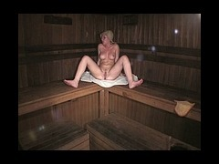 From this video From this video filmed by spy cam in the sauna it's obviously seen that sexy babe in tube porn video