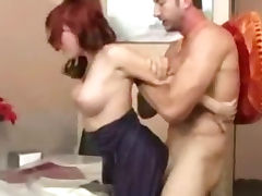 MILF riding Big Cock tube porn video