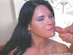 Sexy Jennifer Dark gets fucked hard in both holes tube porn video