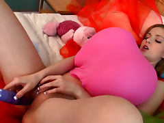 Fun balloon video with sexy teen tube porn video