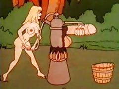 Hansel and Gretel in the magic forest tube porn video