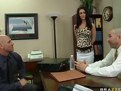 Fucking The Future Brunette Boss Jessica Jaymes In The Office tube porn video