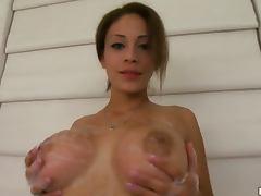 Busty Latina Teen Jamie Valentine's Bonerific Solo Masturbation Clip tube porn video