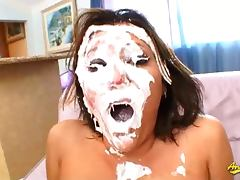 Claire Dames hard anal and face fucking tube porn video