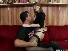 Red Head Beauty Faye Reagan in Stockings Getting Fucked By a Big Dick tube porn video