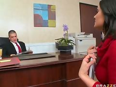 Stunning Brunette Charley Chase Gets Fucked During a Job Interview tube porn video