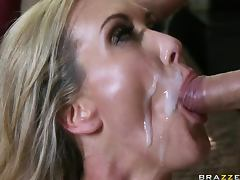 Busty Blonde MILF Brandi Love Gets Banged Hard In a POV Porn tube porn video