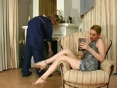 Russian Lady and cleaner boy tube porn video