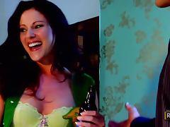 Foxy Brunette Samantha Ryan Is Hammered Hard tube porn video