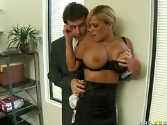 Rough Anal Sex For The Big Tittied Blonde Shyla Stylez tube porn video