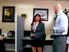 Boss Fucks His Secretary In The Office tube porn video