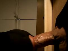 Quick Cummer at Glory Hole tube porn video