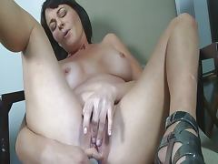 Picked up to work her dildo tube porn video