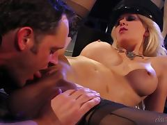 Alec Knight pounds sexy blonde Jazy Berlin's amazing holes tube porn video