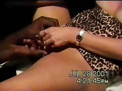 Blonde wife fucks a BBC in the theater Part1 tube porn video