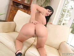 A Hot Solo With The Kinky Black Angelika tube porn video