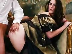 Paige Turnah the luxurious gets fucked on antique sofa tube porn video