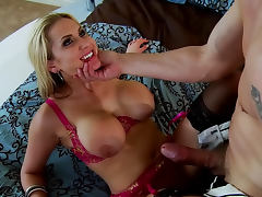 Blonde Alanah Rae being drilled in her puss by Mark Ashley tube porn video