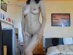 Hot latina milf stripping part 1 tube porn video