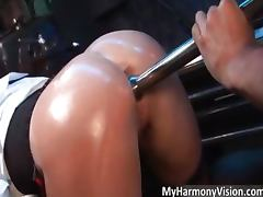 Nasty hot ass blonde Rebecca More part3 tube porn video