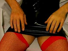 cum in fishnets tube porn video