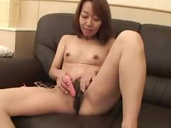 Mature Japanese vixen Kiyoko Tachibana gets Creamed tube porn video