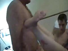 WIFE MEETS 2 GUYS AT A MOTEL tube porn video