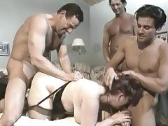 JENNY JOYCE BBW GANGBANG tube porn video