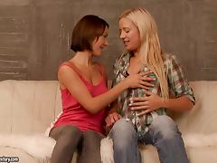 Sexy Lesbians Licking Holes Like Crazy tube porn video