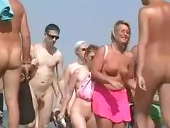 Nude beach is for those people who don't get sexcited from a single sight tube porn video