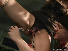 Cindy Hope loves to be dominated in hot BDSM videos tube porn video