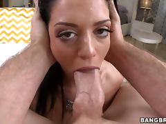 Melina Mason toys her tight ass and gets her vag amazingly pounded tube porn video