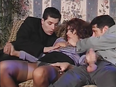 Italien Threesome Dp 90s tube porn video