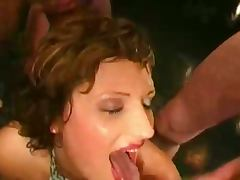 German mature bukkake ganbang tube porn video