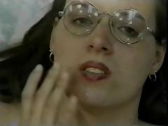 Hairy Twatted Nerd Casey Gets Cream In Her Cunt tube porn video